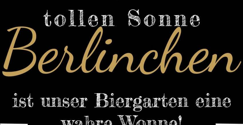 Biergarten-Wonne
