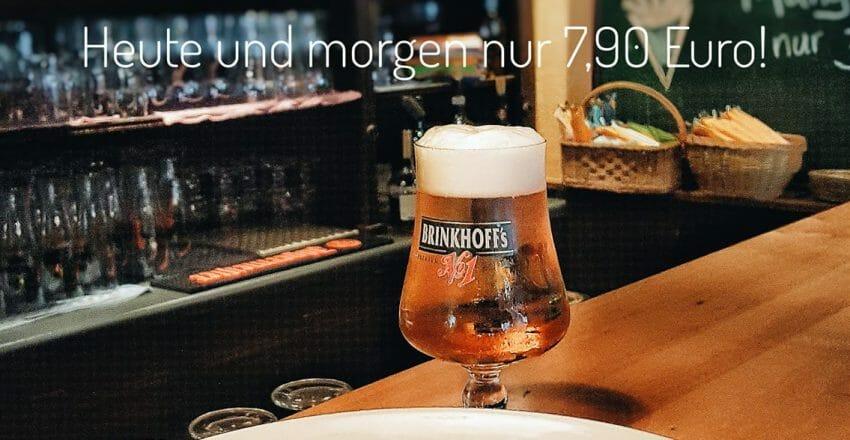 Nudeln und Bierchen